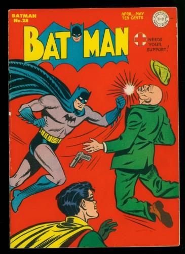 Item: Batman #28 FN+ 6.5 White Pages