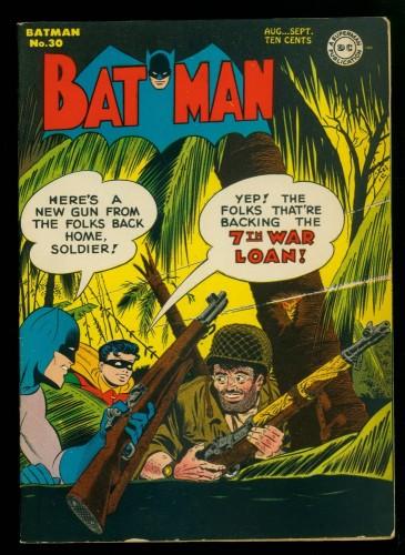 Item: Batman #30 FN/VF 7.0