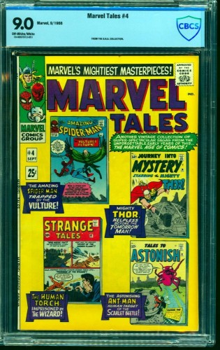 Item: Marvel Tales #4 CBCS VF/NM 9.0 Off White to White