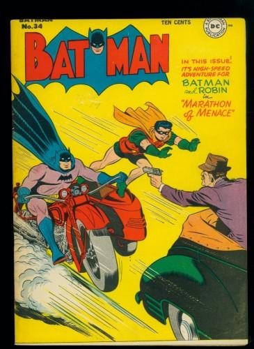 Item: Batman #34 VF- 7.5