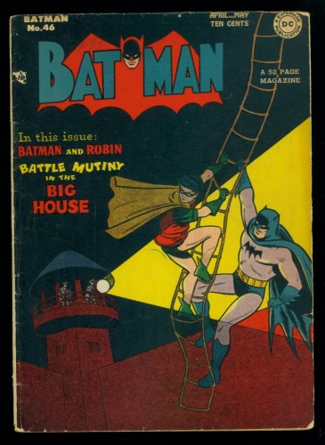 Item: Batman #46 VG+ 4.5