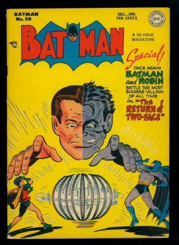 Item: Batman #50 VG 4.0