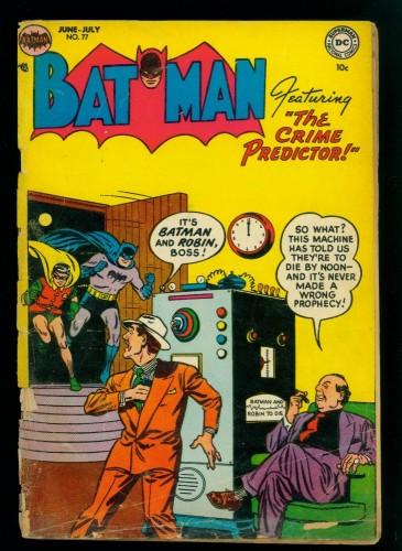 Item: Batman #77 FA/GD 1.5