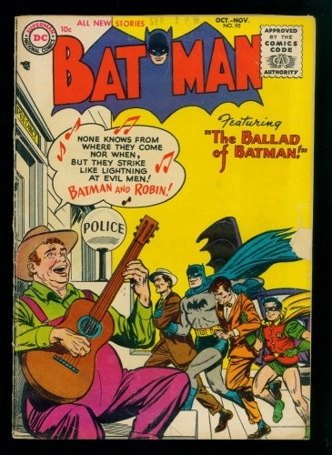 Item: Batman #95 GD/VG 3.0 (Restored)