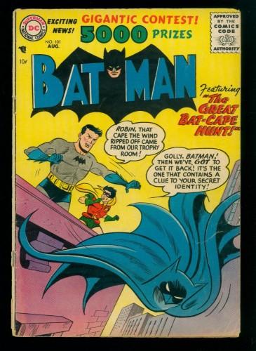 Item: Batman #101 GD+ 2.5