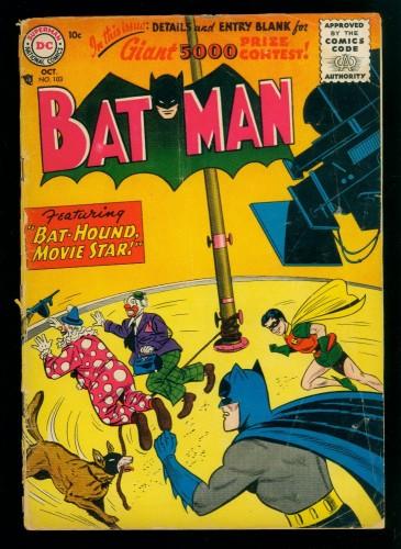 Item: Batman #103 GD 2.0