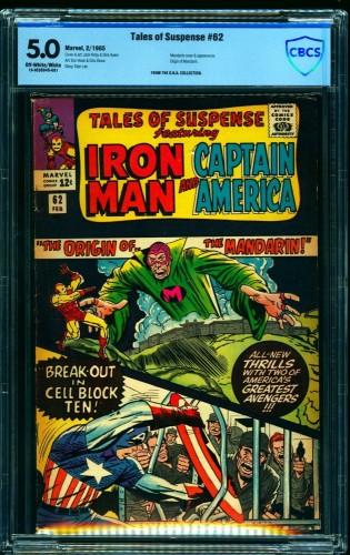 Item: Tales Of Suspense #62 CBCS VG/FN 5.0 Off White to White Iron Man
