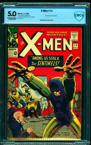 Item: X-Men #14 CBCS VG/FN 5.0 Off White to White Marvel Comics