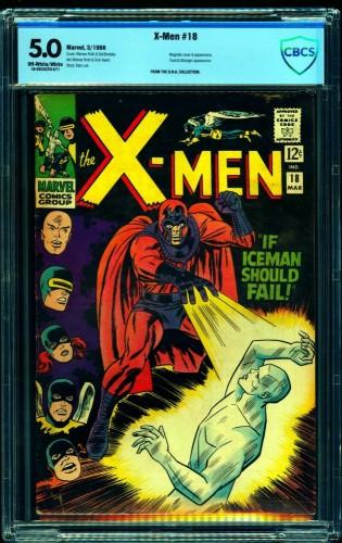 Item: X-Men #18 CBCS VG/FN 5.0 Off White to White Marvel Comics