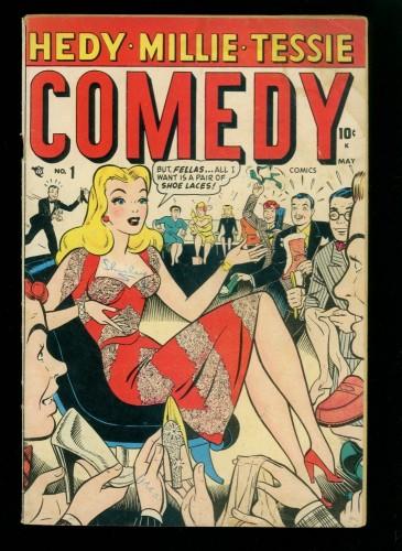Item: Comedy Comics #1 GD/VG 3.0