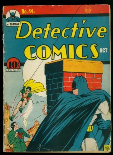 Item: Detective Comics #44 GD/VG 3.0 (Restored) Batman DC