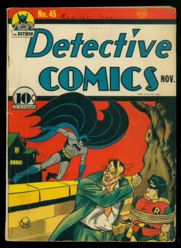 Item: Detective Comics #45 VG+ 4.5 Batman DC