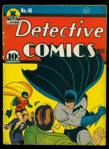 Item: Detective Comics #46 FA/GD 1.5