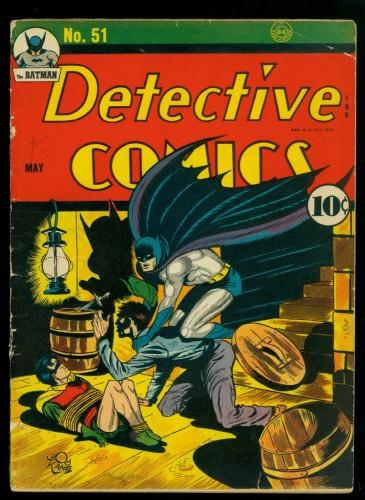Item: Detective Comics #51 VG 4.0 (Restored) Batman DC