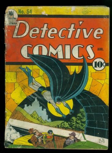 Item: Detective Comics #54 P 0.5 Batman DC