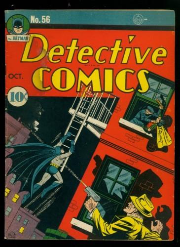 Item: Detective Comics #56 VG 4.0 Batman DC