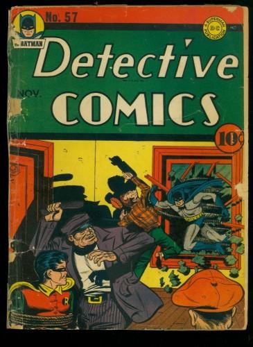 Item: Detective Comics #57 FA/GD 1.5