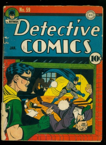 Item: Detective Comics #59 GD 2.0 Batman DC