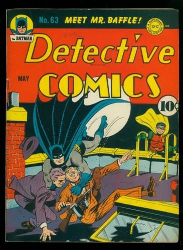 Item: Detective Comics #63 FN+ 6.5