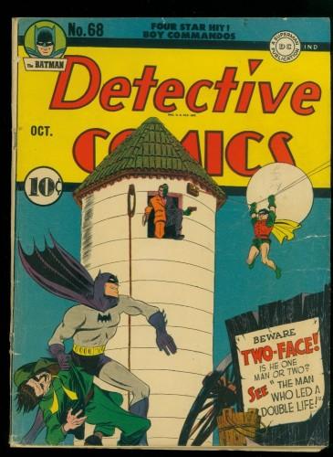 Item: Detective Comics #68 VG 4.0 White Pages Batman DC