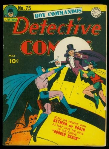 Item: Detective Comics #75 GD- 1.8 Batman DC