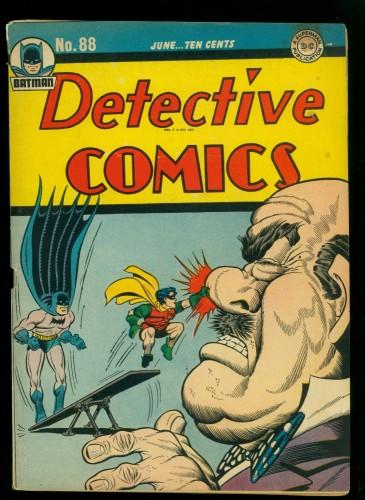 Item: Detective Comics #88 VG+ 4.5 Batman DC