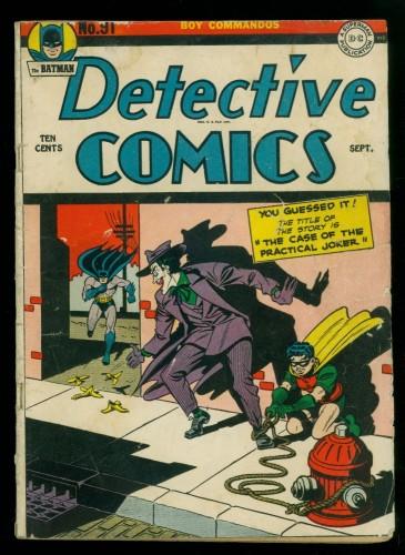 Item: Detective Comics #91 GD/VG 3.0