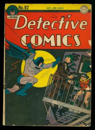 Item: Detective Comics #92 GD/VG 3.0