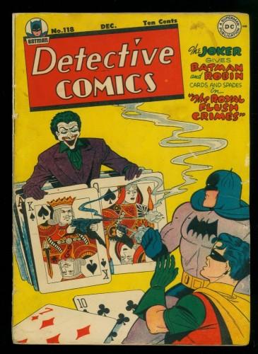 Item: Detective Comics #118 GD/VG 3.0 Batman DC