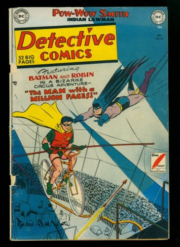 Item: Detective Comics #166 GD+ 2.5