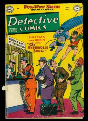 Item: Detective Comics #175 FA/GD 1.5