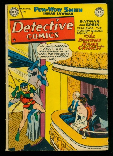 Item: Detective Comics #183 GD/VG 3.0