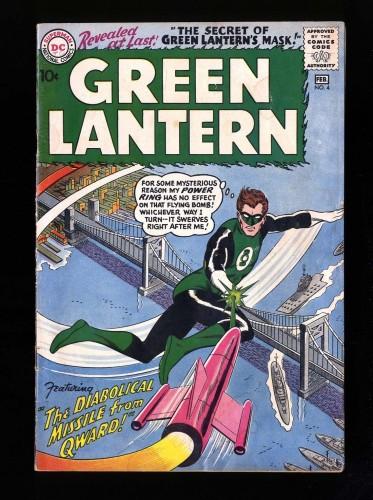 Item: Green Lantern #4 VG 4.0 DC Comics