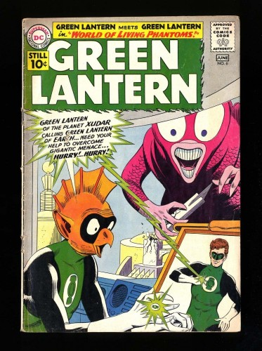 Item: Green Lantern #6 VG- 3.5 DC Comics
