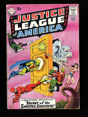 Item: Justice League Of America #2 GD/VG 3.0 DC Comics