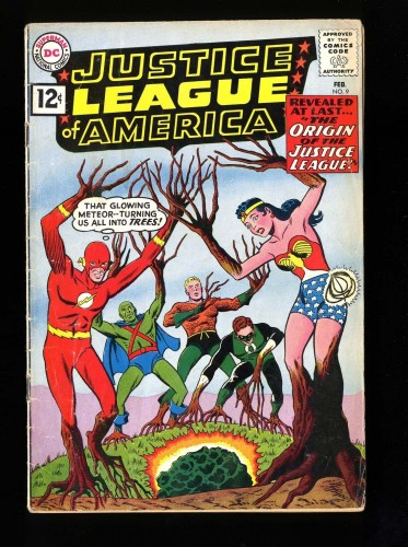 Item: Justice League Of America #9 VG- 3.5 DC Comics
