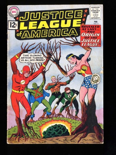 Item: Justice League Of America #9 GD/VG 3.0 DC Comics
