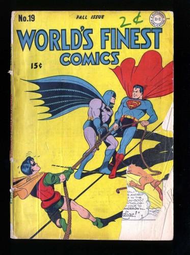 Item: World's Finest Comics #19 P 0.5