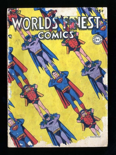 Item: World's Finest Comics #37 Fair 1.0