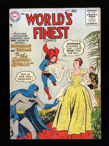 Item: World's Finest Comics #85 VG/FN 5.0
