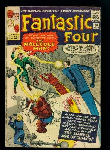 Item: Fantastic Four #20 VG- 3.5 Marvel Comics