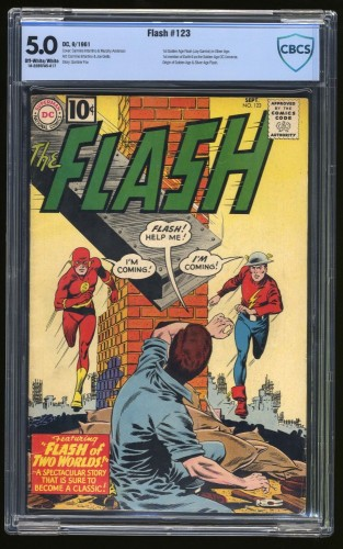 Item: Flash #123 CBCS VG/FN 5.0 Off White to White DC Comics