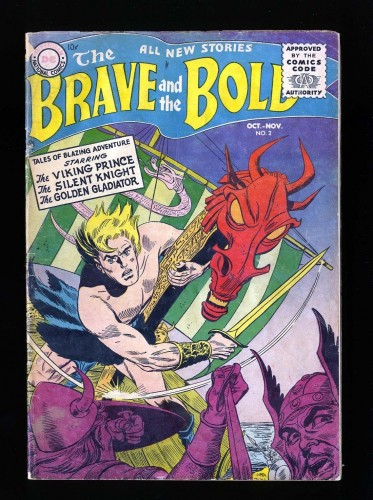 Item: Brave And The Bold #2 GD/VG 3.0