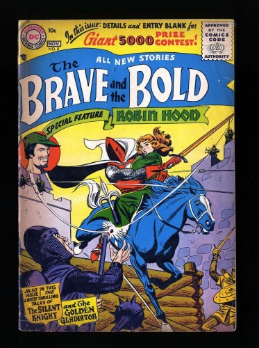Item: Brave And The Bold #8 GD 2.0
