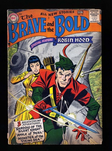 Item: Brave And The Bold #12 GD+ 2.5