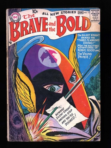 Item: Brave And The Bold #15 GD+ 2.5