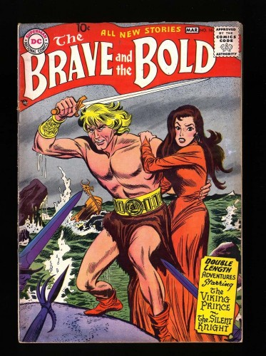 Item: Brave And The Bold #16 VG/FN 5.0