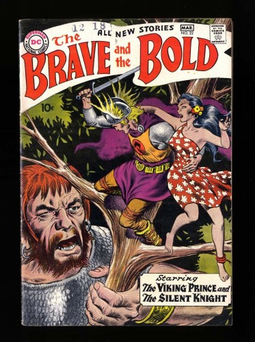 Item: Brave And The Bold #22 FN+ 6.5
