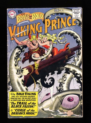 Item: Brave And The Bold #24 VG- 3.5