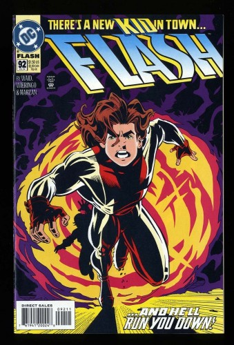 Item: Flash Vol.2 #92 VF/NM 9.0 1st Impulse (Bart Allen)